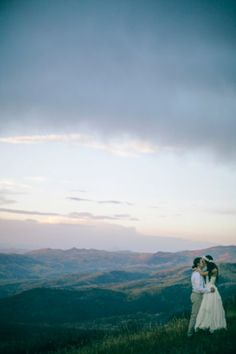 A Free People Wedding In Colorado / Bride wore BHLDN