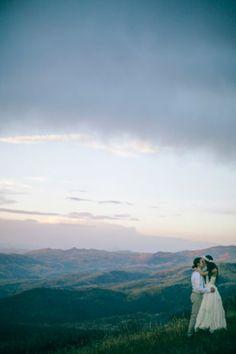 A Free People Wedding In Colorado / Bride wore BHLDN
