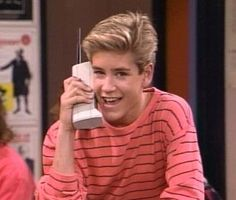 Mark-Paul Gosselaar -- Zack Morris, Saved by the Bell... Oh yeah the zack Morris phone!