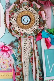 @: Hand-Crafted Prize Ribbons