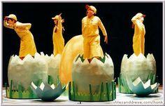 honk eggs