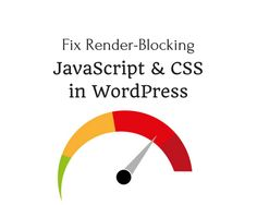 Have you ever noticed Render-blocking JavaScipt in your Speed test results? If you haven't noticed it yet, kindly do a speed test of your site on GTmetrix or Google Page Speed Insights. Have you seen it? Now, I will show you how to fix it. How to fix Render-Blocking JavaScript and CSS in WordPress …