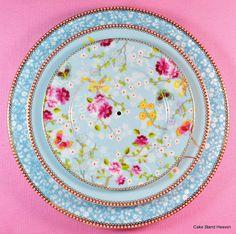 PiP Studio blue floral porcelain plates