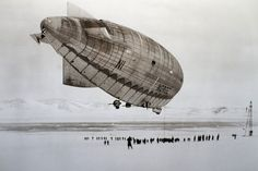 Norge – the first aircraft to fly over the polar ice cap between Europe and America.