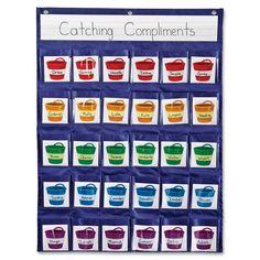 Bucket Filler Pocket Chart