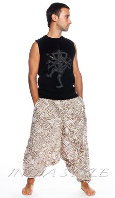Алладины тропические, шаровары, мужская индийская одежда, Индия, восток, Aladdin tropical, trousers, men's Indian clothing, India, east. 1330 рублей