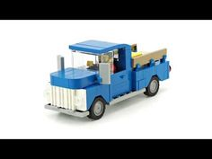 LEGO Waste Container Transporter. MOC Building Instructions - YouTube