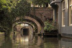 Utrecht, Grachten-binnenstad
