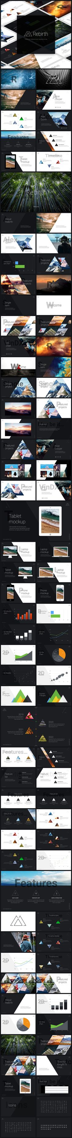 Rebirth PowerPoint Presentation Template. Download here: http://graphicriver.net/item/rebirth-powerpoint-presentation/15200848?ref=ksioks