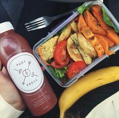 food, food porn, fruit, healthy, tumblr, vegan, vegan food, veganism Healthy Tumblr, Aesthetic Food, Healthy Snacks, Healthy Eating, Healthy Recipes, Unripe Banana, Yummy Food, Good Food, Banana Oil
