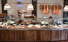 Located in the centre of Hampstead, London, The Hampstead Butcher & Providore is a neighbourhood butcher, delicatessen, charcuterie and wine merchant in NW3.Guy Bossom and his team of butchers offer traditional meat cuts from a wide range of free-range beef, pork, lamb, chickens and poultry from British free-range farms in addition to game when in season. Our fresh meat is British, free range, ethically reared and traceable from our British farms.