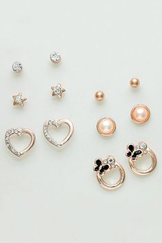 Lisette Earring Set in Rose Gold on Emma Stine Limited