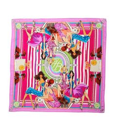 Love this scarf It would be fabulous in a frame and I know just the place I'd hang it! From Bendel's. $148