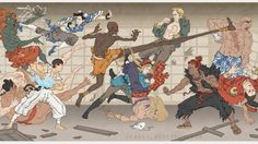 Pop Culture Ukiyo-e Heroes by Jed Henry #archives