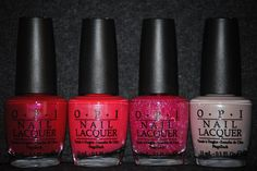 OPI New Summer 2011 Collection Nice Stems! 4 Pc Set Full Bottles * Want additional info? Click on the image.