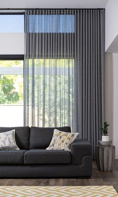4 Marvelous Unique Ideas: Bamboo Blinds Living Room blinds for windows with curtains.Blinds For Windows Sliders dark blinds simple.Livingroom Blinds And Curtains. Home Curtains, Modern Curtains, Modern Blinds, Sheer Curtains Bedroom, Hanging Curtains, Sheer Blinds, Sheer Drapes, Fabric Blinds, Farmhouse Curtains