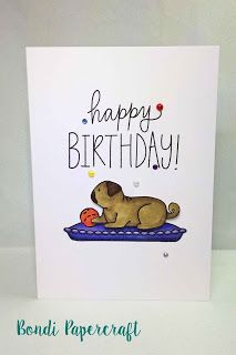 Bondi Papercraft - Furry Friends Avery Elle, Birthday Wishes MFT