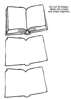 Homeschool Helper Online's Free Book Outline Lapbooking Template