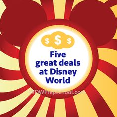 The best deals available at Disney World - PREP095