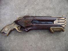 Steampunk Gun Nerf Roughcut Victorian Gothic Vampire Hunter Cosplay Painted | eBay