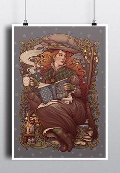 1be0c2006c361 817 Best Art Nouveau Inspired images in 2019 | Alphonse mucha art ...
