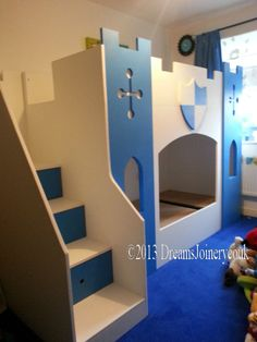 KNIGHTS CASTLE PRINCE / PRINCESS BUNK OR CABIN BED