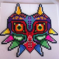 Majora´s Mask Zelda perler beads by kaleidoscope__colors