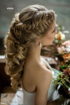 Gorgeous wedding hairstyles; Featured: Elstile