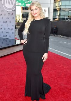 Meghan Trainor Plus Size Fashion