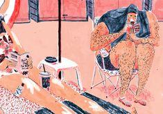 Mouni Feddag Illustration   blog Não Me Mande Flores
