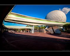 Super Stretched Monorail - Epcot, via Flickr.