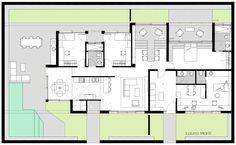 House & Work space design LauraMartí2015 Workspace Design, Floor Plans, House, Home, Workplace Design, Haus, Floor Plan Drawing, Houses, House Floor Plans