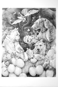 Adonna Khare, art, illustration, animals