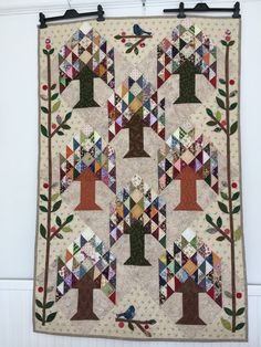 'Tree of Life' Patchwork Wallhanging or Throw £150.00
