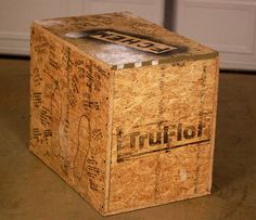 Diy Plyo Box For Crossfit Style Box Jumps Primal Paleo