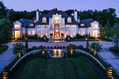Mansion Homes and Dream Houses — Forest Creek Manor Home, see more ...