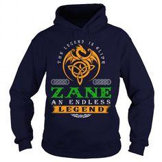 I Love ZANE The Legend Is Alive ZANE An Endless Legend v3.0 T shirts