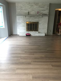 New Flooring In The Living Room