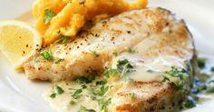 Cod with Pumpkin Mash and Cream Sauce recipe | Eat Smarter USA