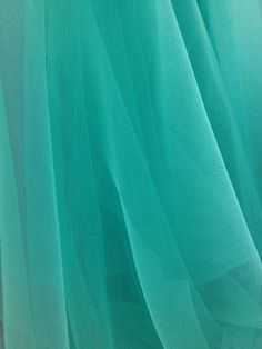 1 yard Tulle Illusion in Turquoise for Bridal Veils by lacelindsay