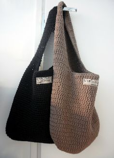 Crocheted bags. Would love it a bit more if it had a longer strap.