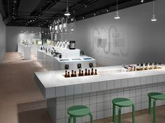 Stockholm design studio creates laboratory/exhibition to tap into thriving Swedish brewing scene... http://www.we-heart.com/2015/02/18/spritmuseum-stockholm-beer-exhibition-form-us-with-love/