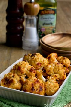 Italian Oven Roasted Cauliflower from @cookthestory