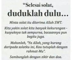 Feel relieve if u sit down and relax and praised Allah s. after solat Hijrah Islam, Doa Islam, Reminder Quotes, Self Reminder, Muslim Quotes, Religious Quotes, Islamic Inspirational Quotes, Islamic Quotes, Cool Words