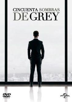 """DVD. Adultos. """"Cincuenta sombras de Grey"""". Disponible en la Biblioteca de Hellín desde el 9 de Febrero."""