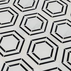 MSI Georama Polished Random Sized Marble Mosaic Tile in White/Black Marble Mosaic, Glass Mosaic Tiles, Commercial Flooring, Mosaic Patterns, Color Schemes, Mesh, Master Bathroom, Downstairs Bathroom, Bathroom Tiling