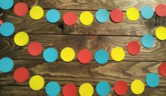 Circus Garland, CIrcus Themed Party, Carnival Party, Vintage Carnival Party, Kids Birthday Party, 1st Birthday Party, Circus Nursery Decor by PartyMadePretty on Etsy https://www.etsy.com/listing/515917214/circus-garland-circus-themed-party