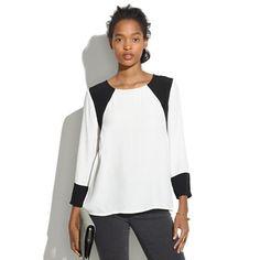 Geometric Top - shirts & tops - Women's NEW ARRIVALS - Madewell