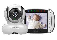 NEW Motorola MBP36S Digital Camera Video Baby Monitor Night VIsion, LCD HD +WTY 4