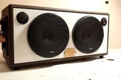 Picture of Finished! Super Happy, Boombox, Bluetooth, Projects, Project Ideas, Speakers, Alternative, Audio, Blue Tooth
